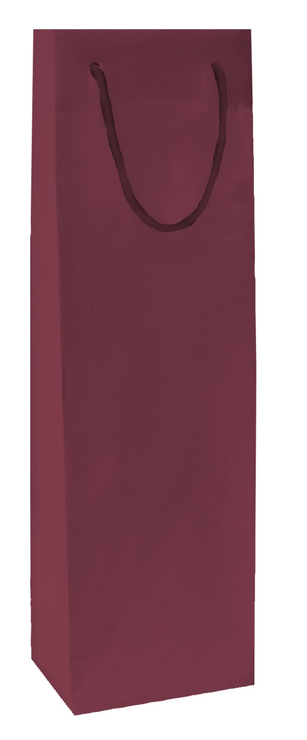 Gift bag, wine red