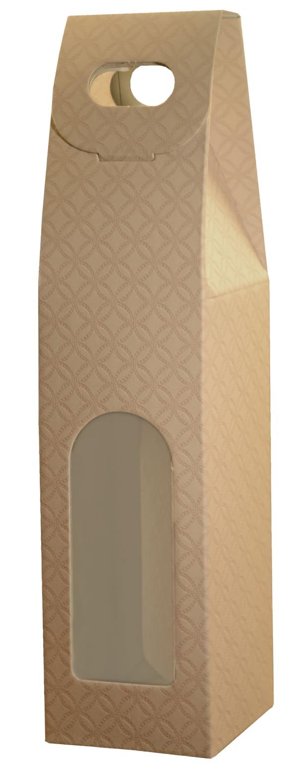 Presentförpackning med insyn, Nudo