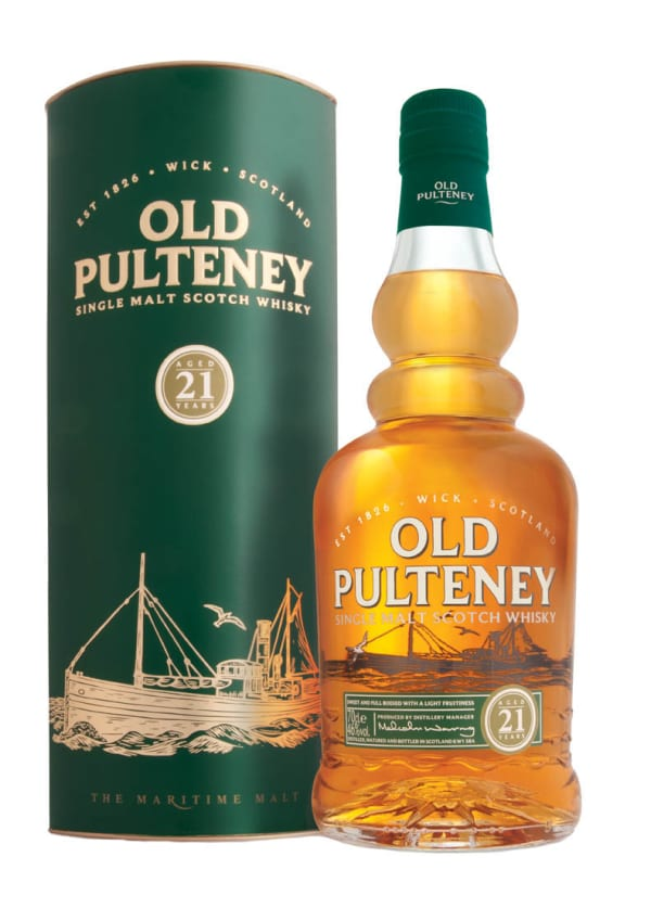 Old Pulteney 21 Year Old Single Malt