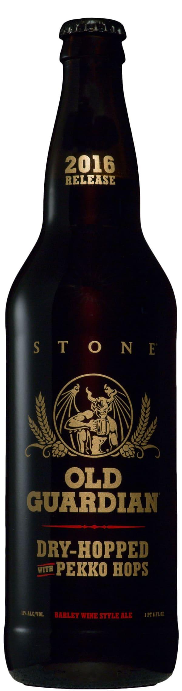 Stone Old Guardian 2016 Release Barley Wine