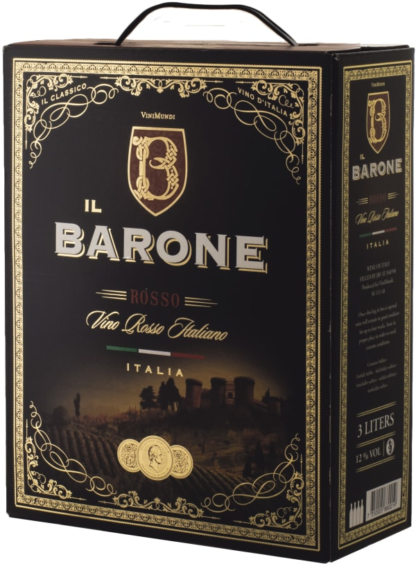 Il Barone Rosso 2016 bag-in-box