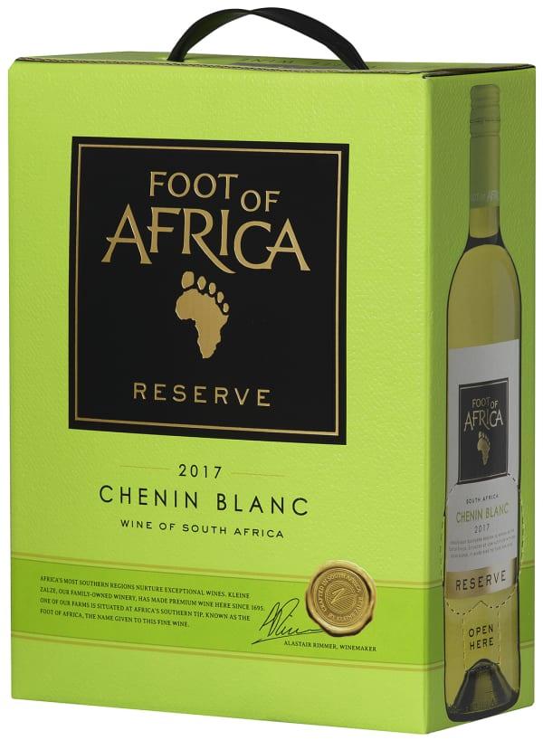 Foot of Africa Reserve Chenin Blanc 2017 hanapakkaus