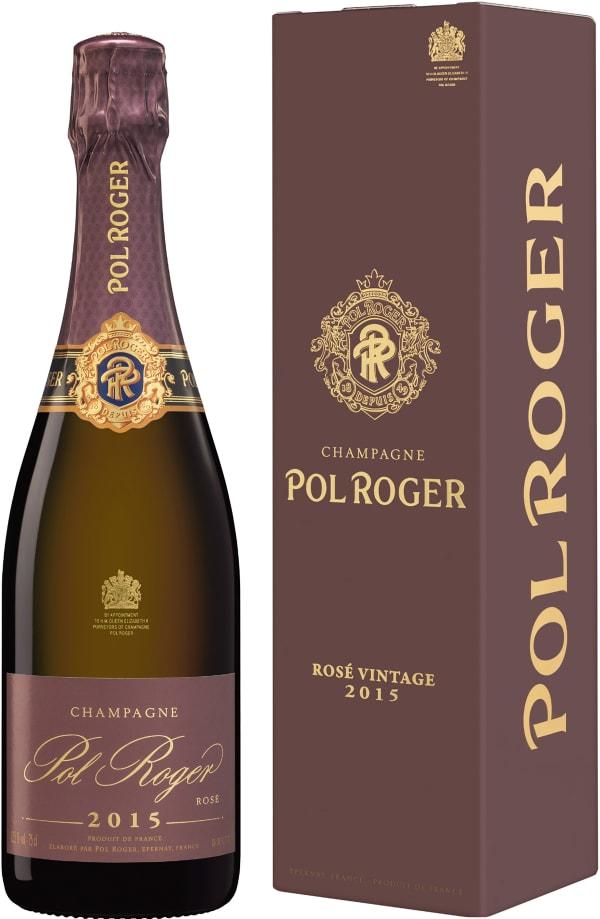 Pol Roger Rosé Champagne Brut 2008
