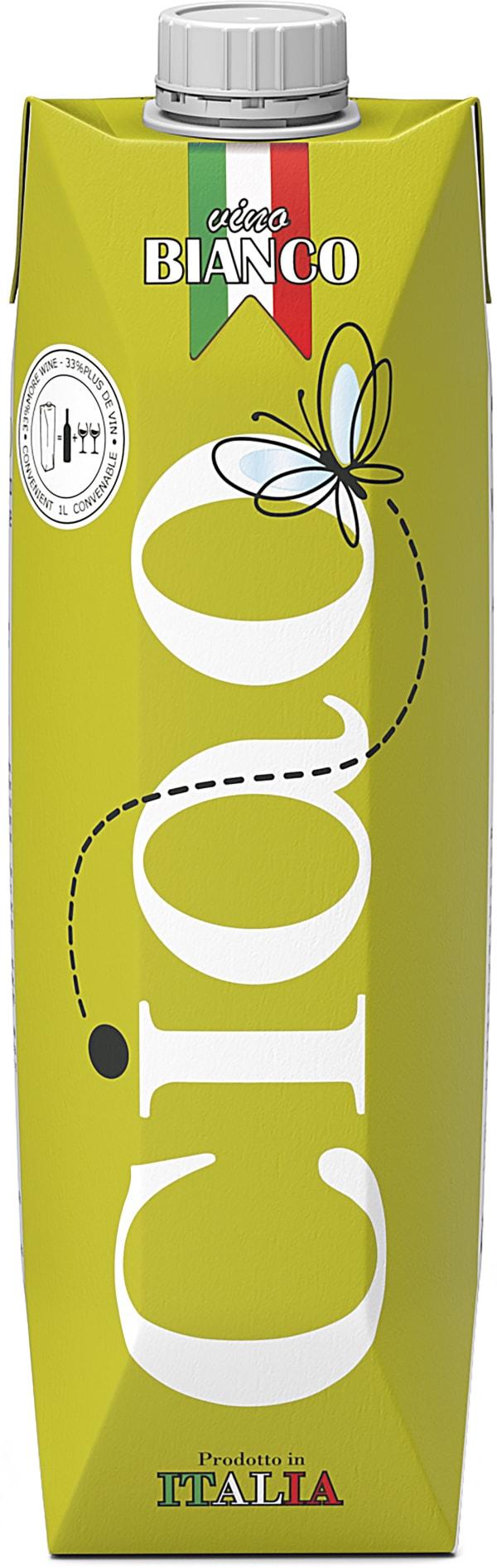 Ciao Organic Chardonnay kartongförpackning