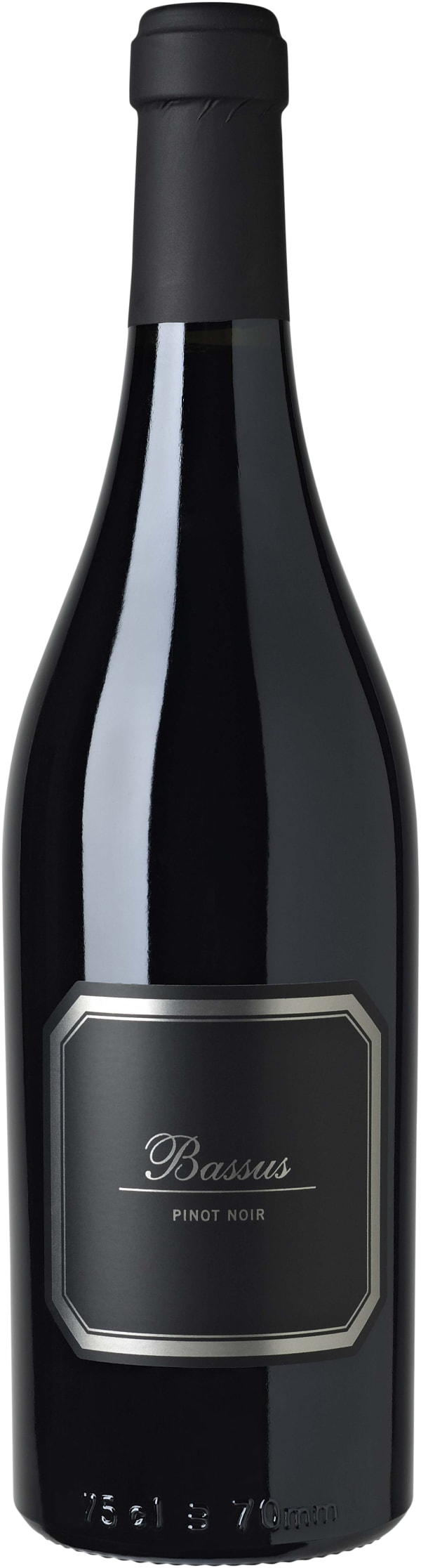 Hispano+Suizas Bassus Pinot Noir 2013