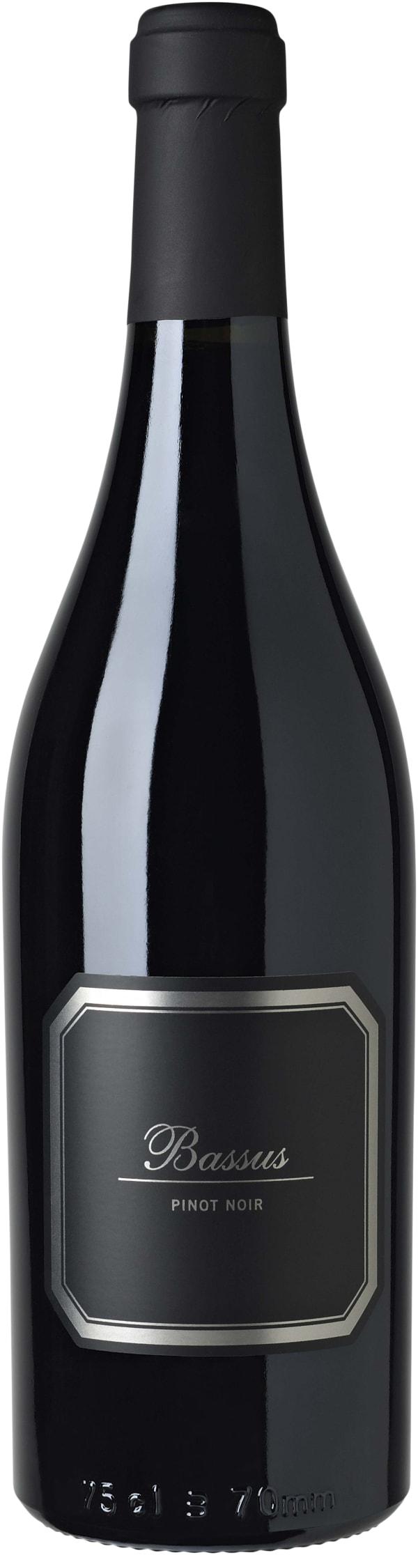 Hispano+Suizas Bassus Pinot Noir 2015