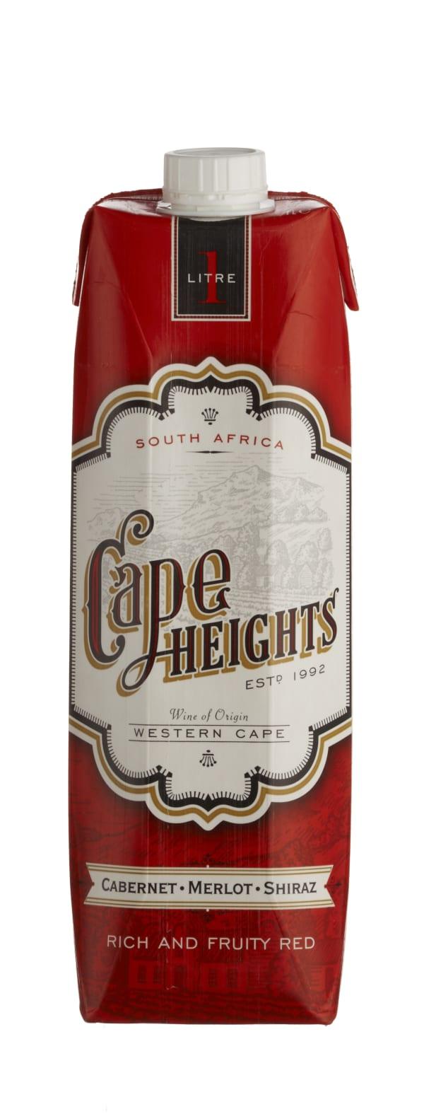 Cape Heights Cabernet Merlot Shiraz kartonkitölkki