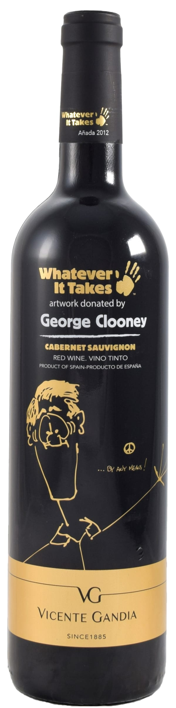 Vicente Gandia George Clooney Cabernet Sauvignon 2012