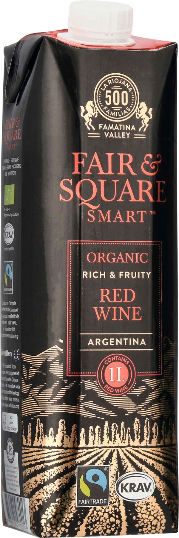 Fair & Square Red 2016 carton package
