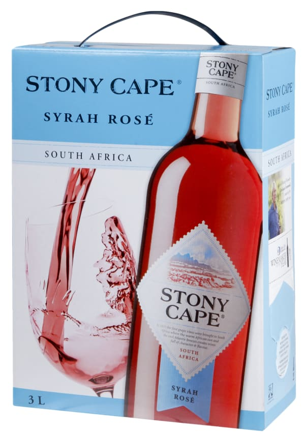 Stony Cape Syrah Rosé  bag-in-box