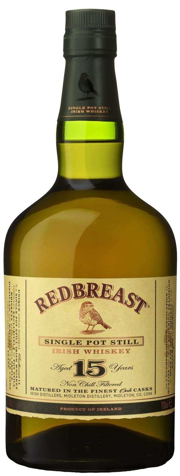 Redbreast 15 Year Old Single Pot Still