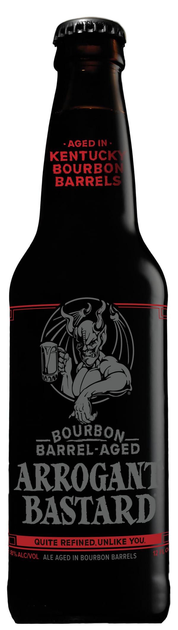 Stone Arrogant Bastard Bourbon Barrel-Aged