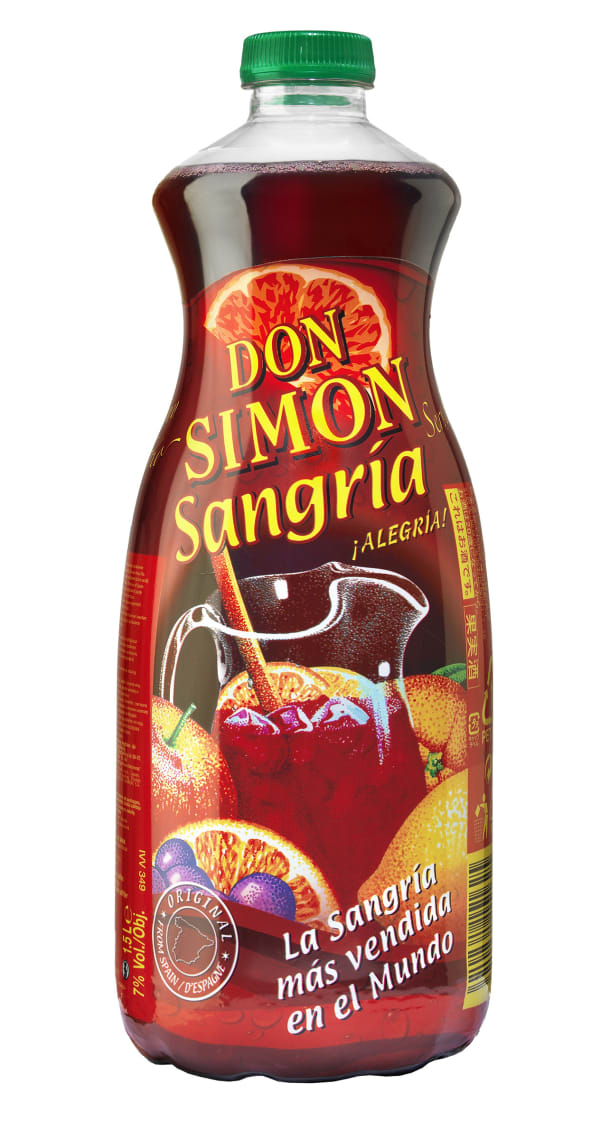 Don Simon Sangría  plastic bottle