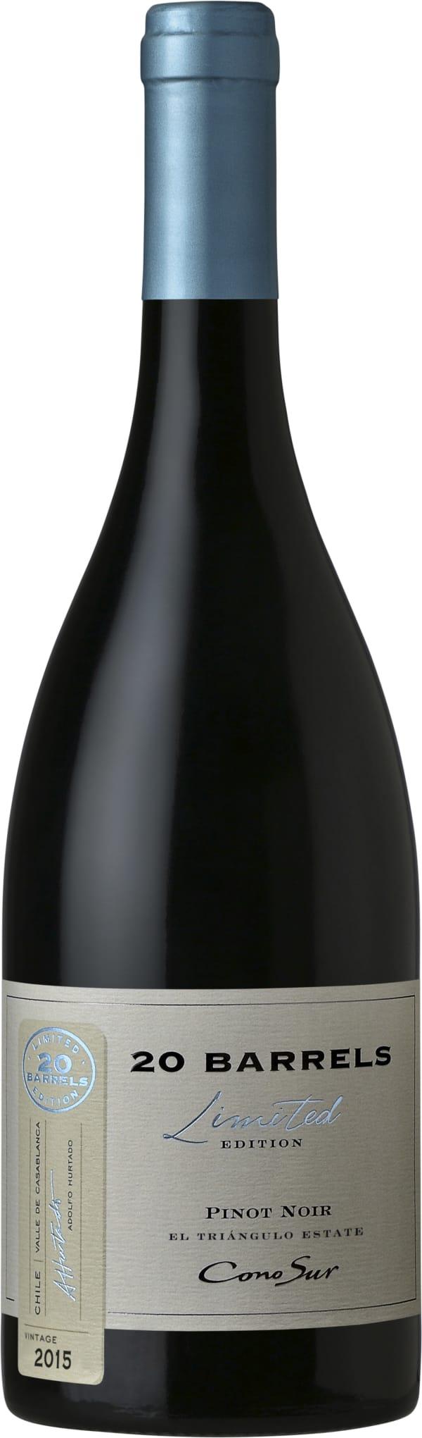 Cono Sur 20 Barrels Pinot Noir 2014