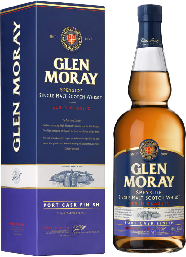 Glen Moray Port Cask Finish Single Malt