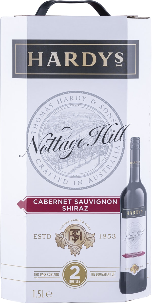 Hardys Nottage Hill Cabernet Sauvignon Shiraz 2016 lådvin