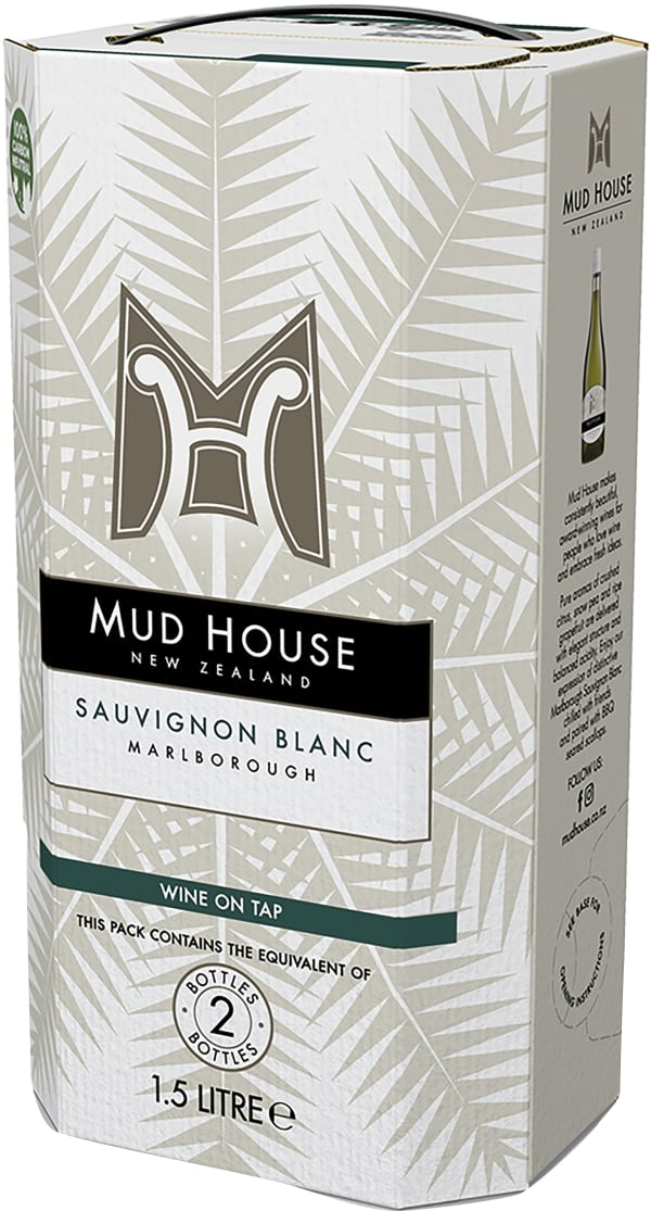 Mud House Sauvignon Blanc 2016 bag-in-box