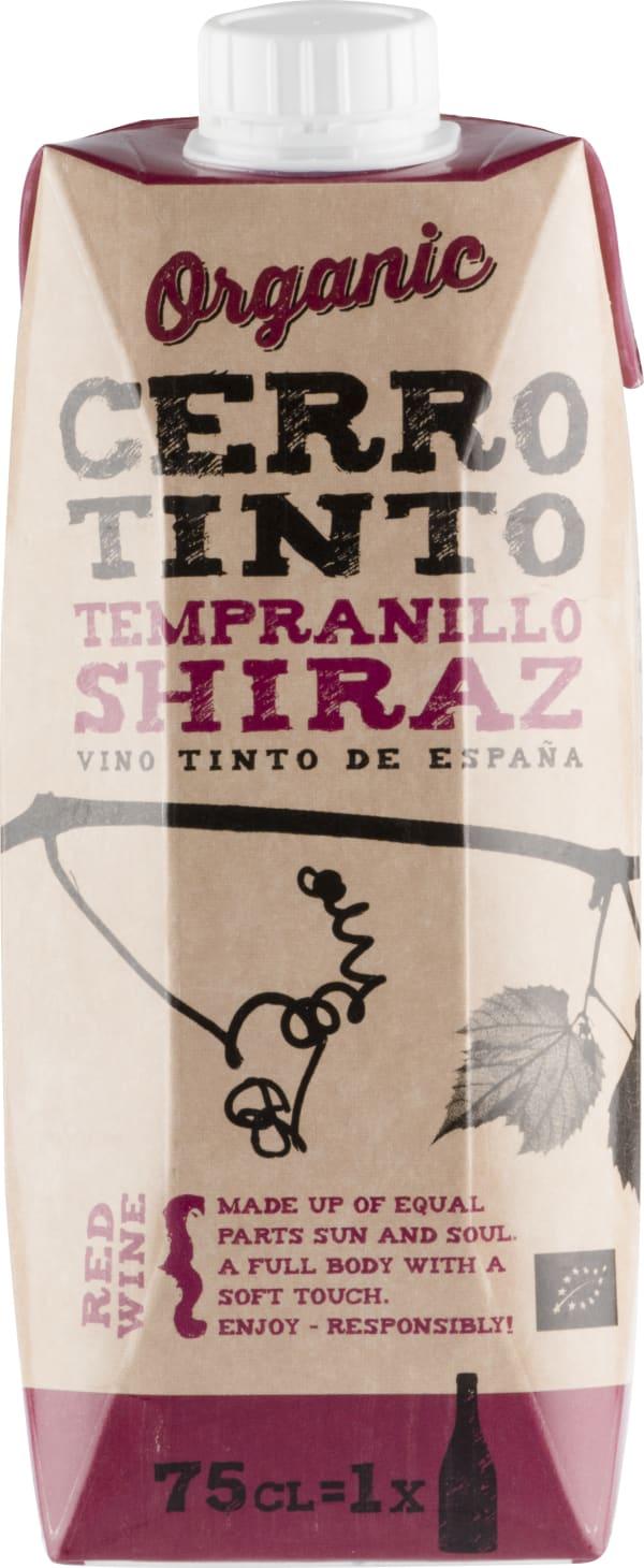 Cerro Tinto Organic Tempranillo Shiraz kartonkitölkki