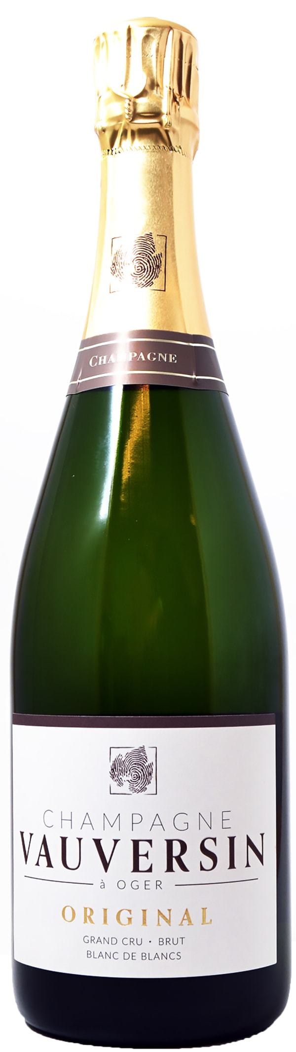Vauversin Grand Cru Blanc de Blanc Champagne Brut