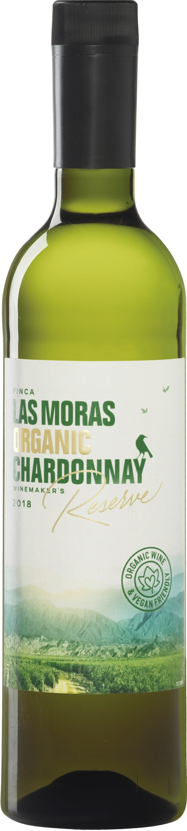 Finca Las Moras Organico Reserve Chardonnay 2016 muovipullo