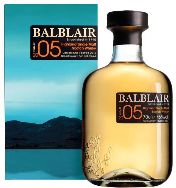 Balblair 2005 Vintage Single Malt 2005