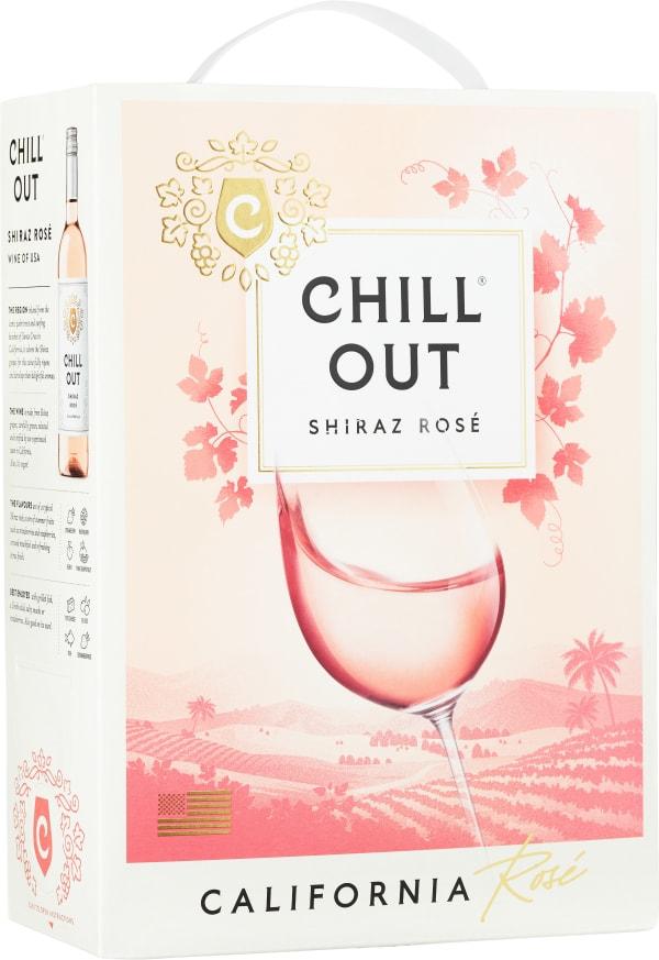 Chill Out Delicate & Fruity Shiraz Rosé 2016 lådvin