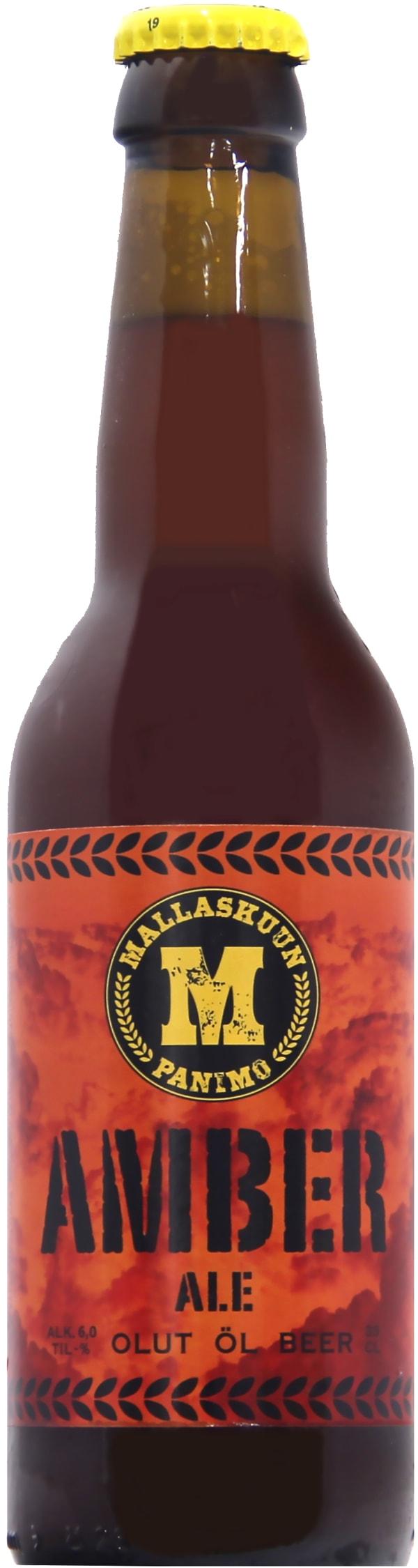 Mallaskuun Amber Ale