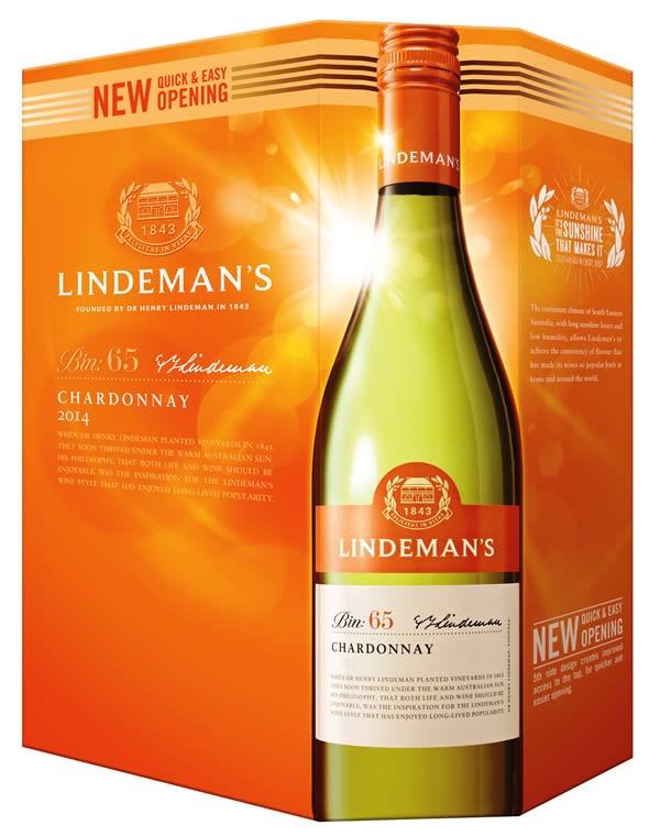 Lindemans Bin 65 Chardonnay 2016 bag-in-box