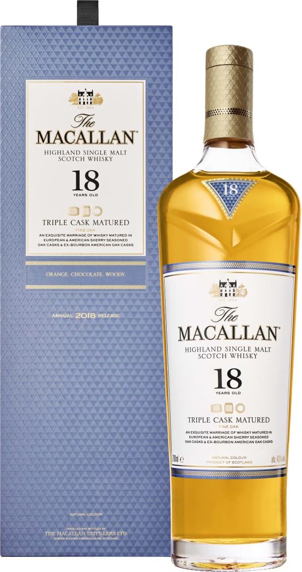 The Macallan Fine Oak 18 Year Old Single Malt