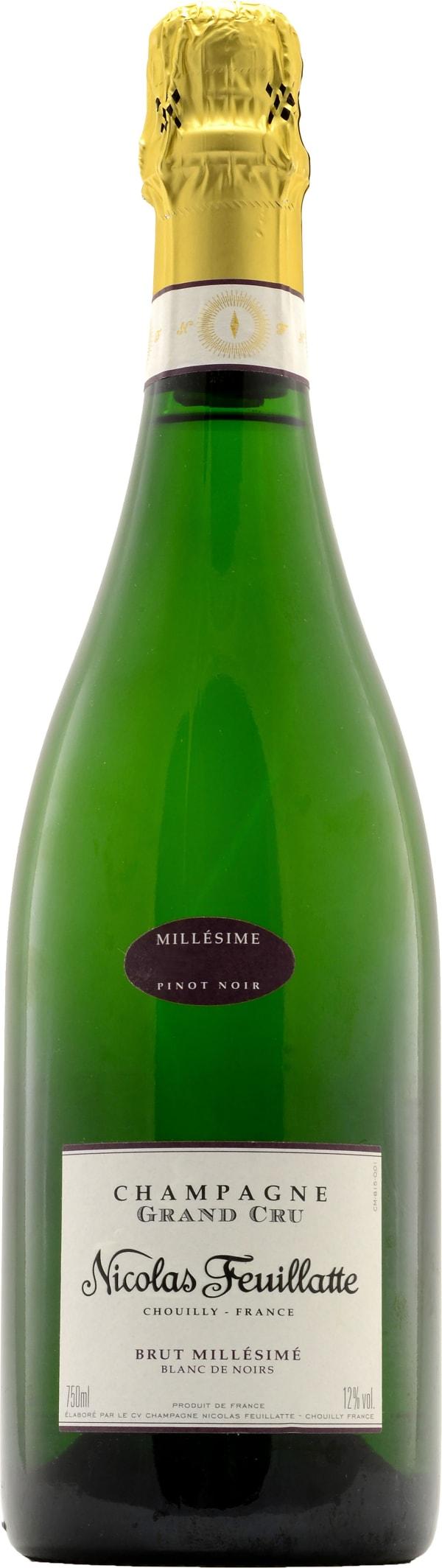 Nicolas Feuillatte Grand Cru Blanc de Noirs Champagne Brut 2006