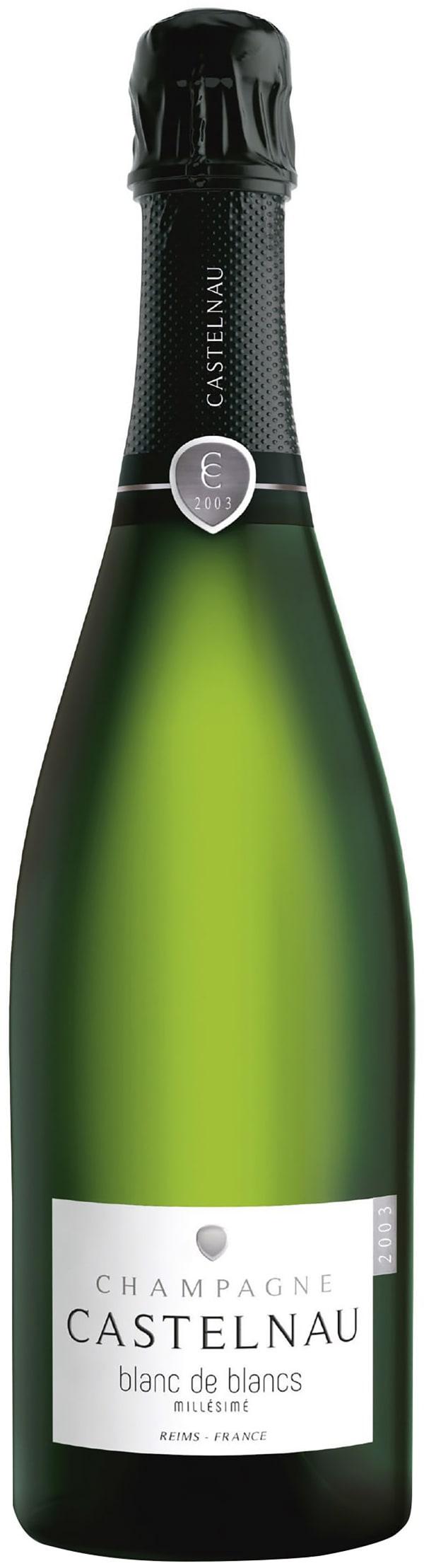 Castelnau Blanc de Blancs Millésimé Champagne Brut 2003