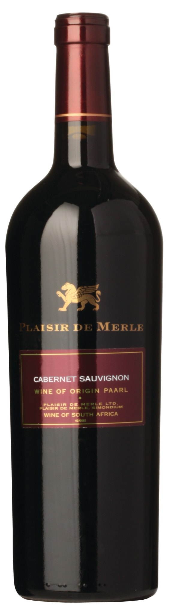 Plaisir de Merle Cabernet Sauvignon 2012
