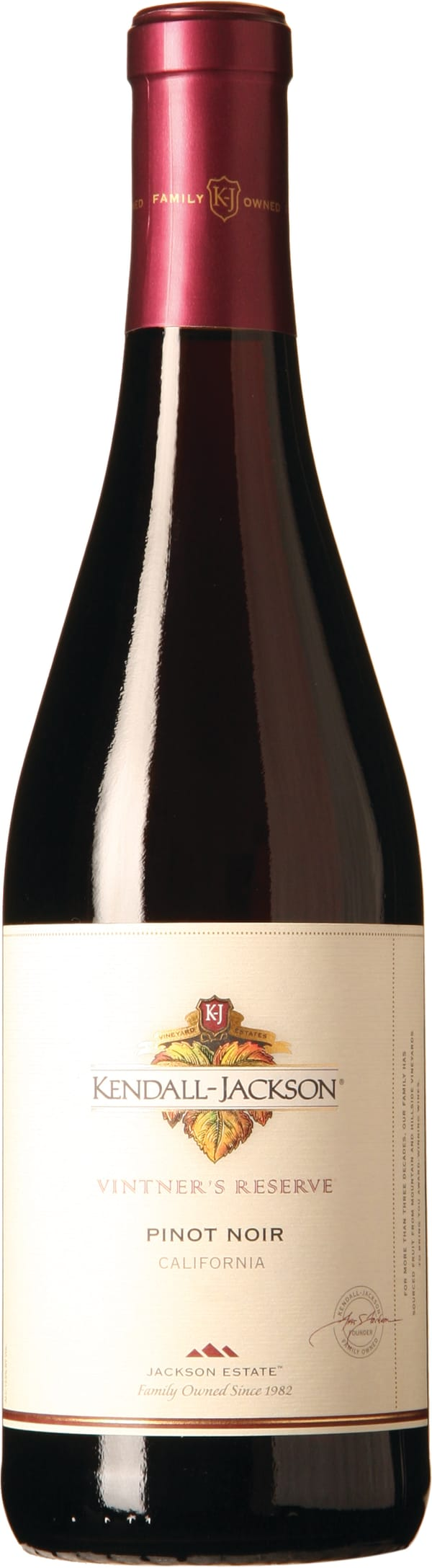 Kendall Jackson Vintners Reserve Pinot Noir 2015