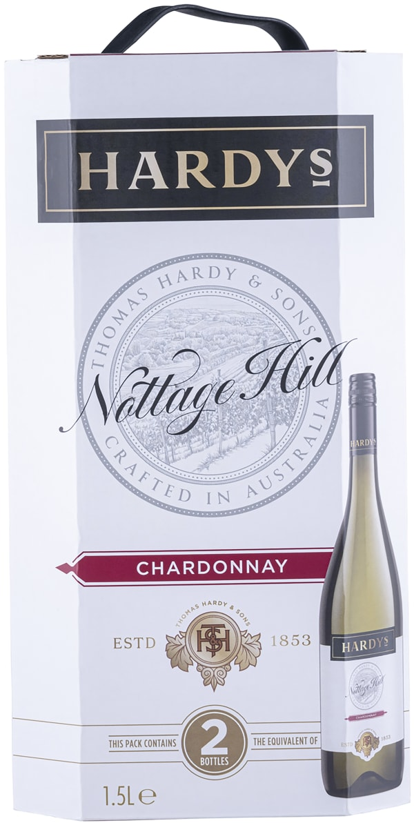 Hardys Nottage Hill Chardonnay 2016 bag-in-box