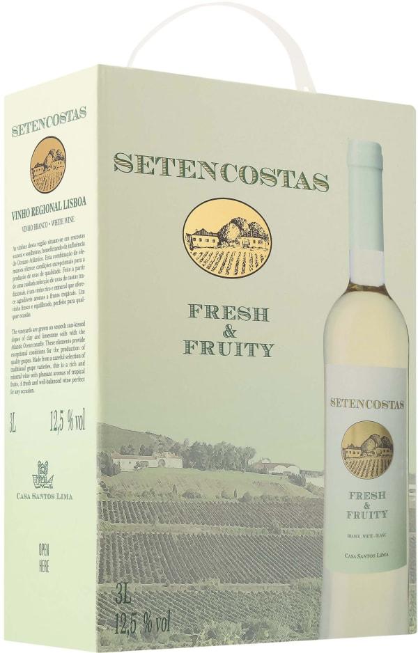 Setencostas Arinto Sauvignon Blanc Viognier 2016 lådvin