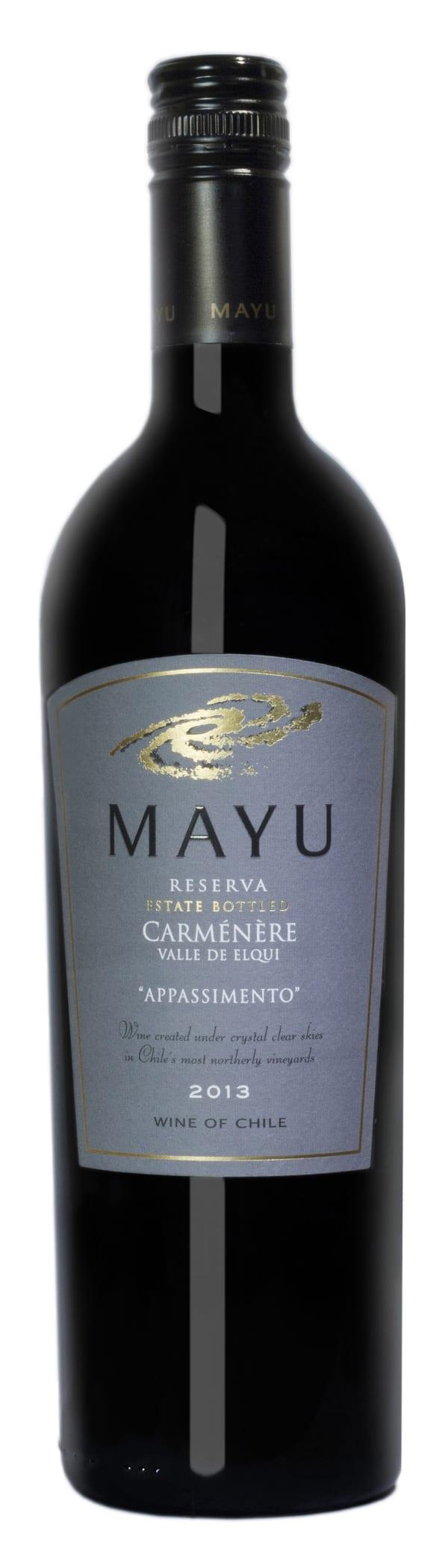 Mayu Reserva Carménère 2012