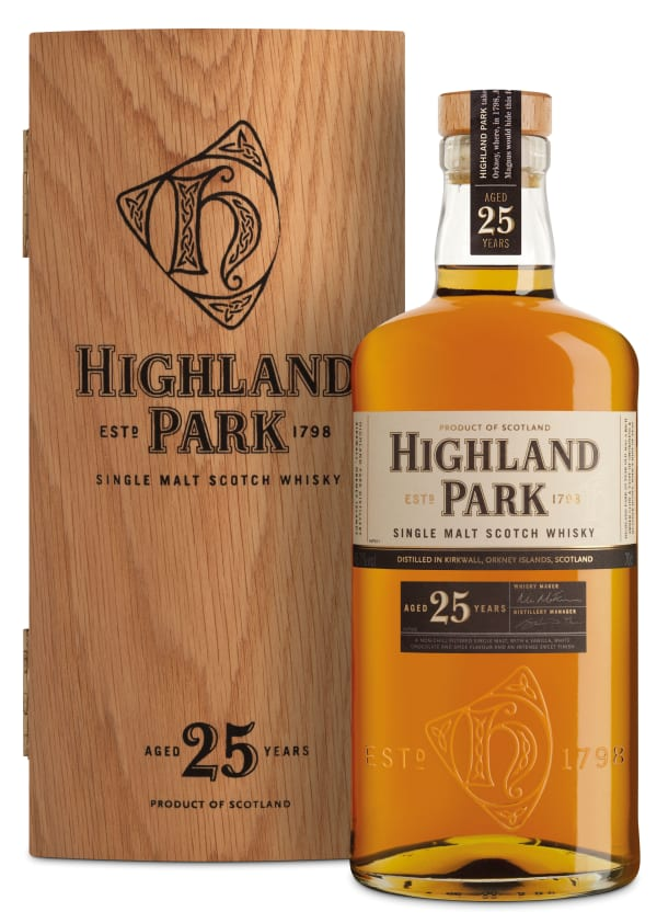 Highland Park 25 Year Old Single Malt