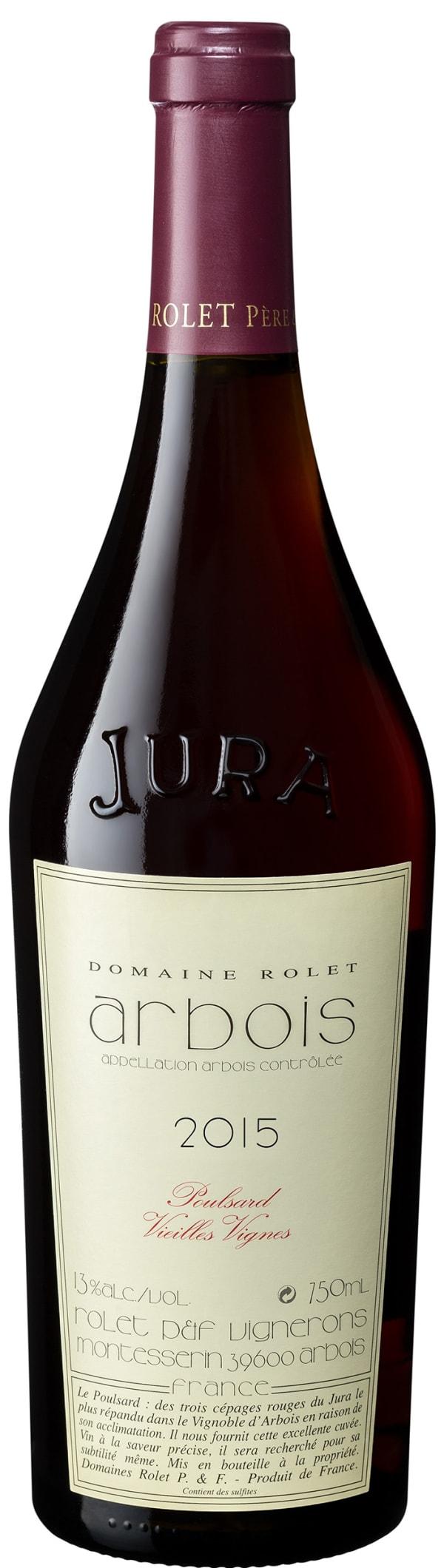 Domaine Rolet Arbois Poulsard Vielles Vignes 2015