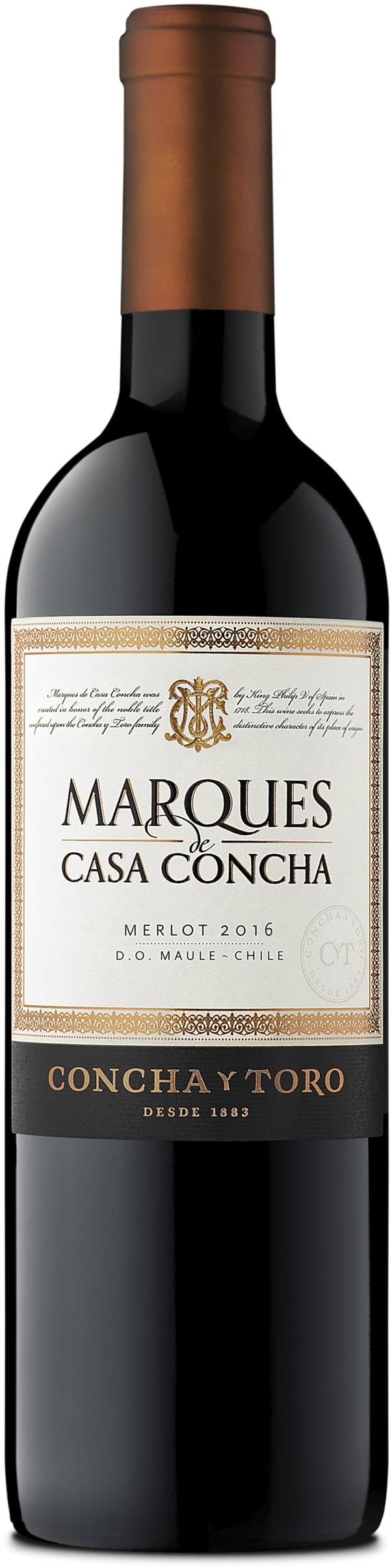 Marques de Casa Concha Merlot 2015
