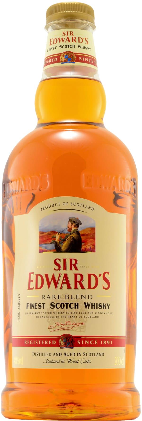 Sir Edward's plastflaska