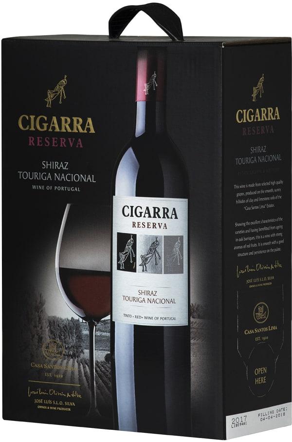 Cigarra Reserva Shiraz Touriga Nacional 2016 bag-in-box