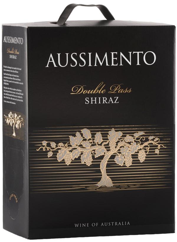 Aussimento Double Pass Shiraz 2015 bag-in-box