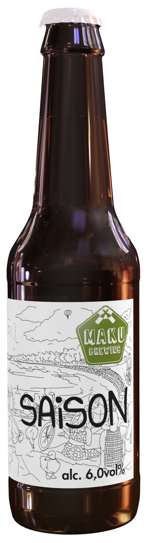 Maku Brewing Saison