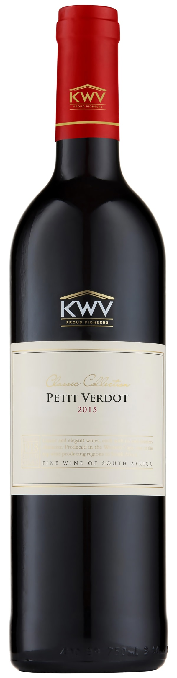 KWV Classic Collection Petit Verdot 2015