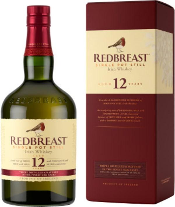 Redbreast 12 Year Old Single Pot Still