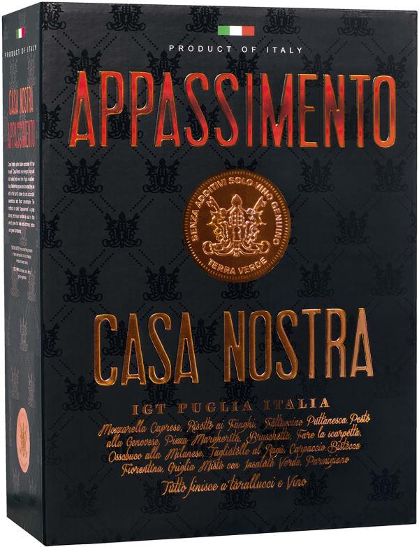 Casa Nostra Appassimento 2015 hanapakkaus