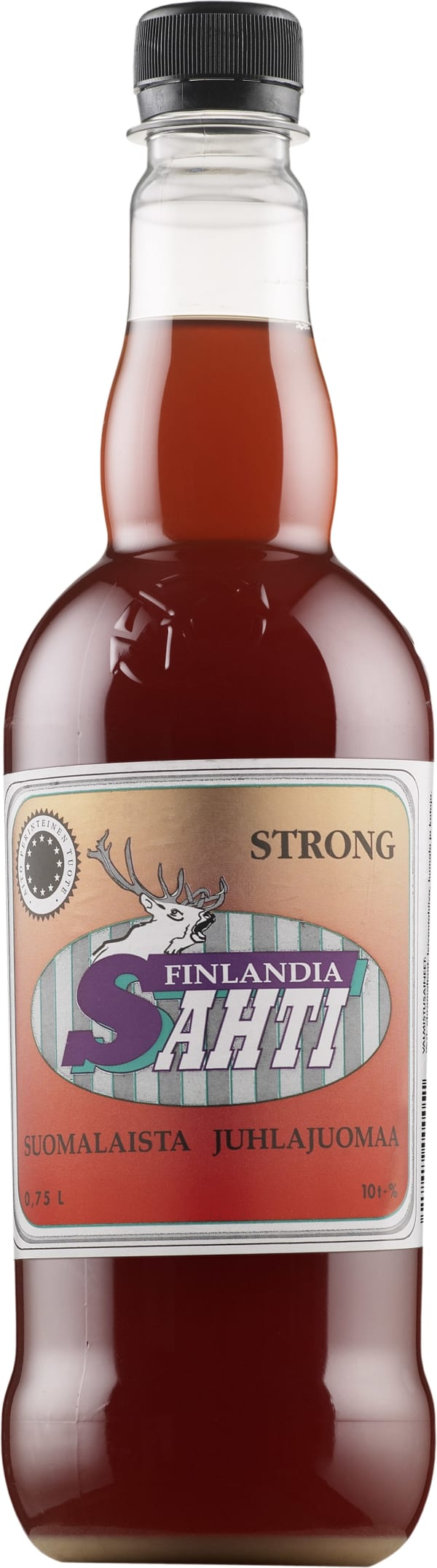 Finlandia Sahti Strong  plastic bottle