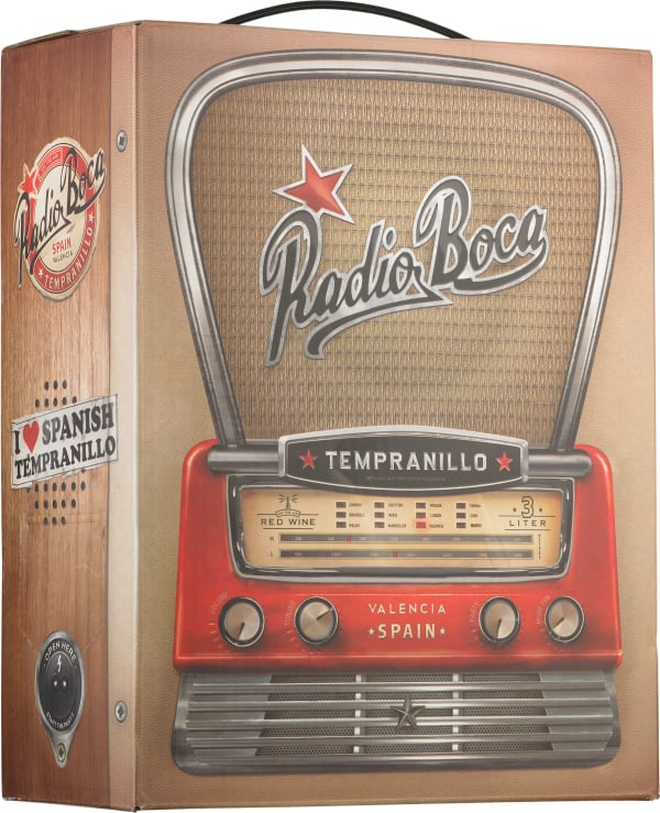 Radio Boca Tempranillo  lådvin
