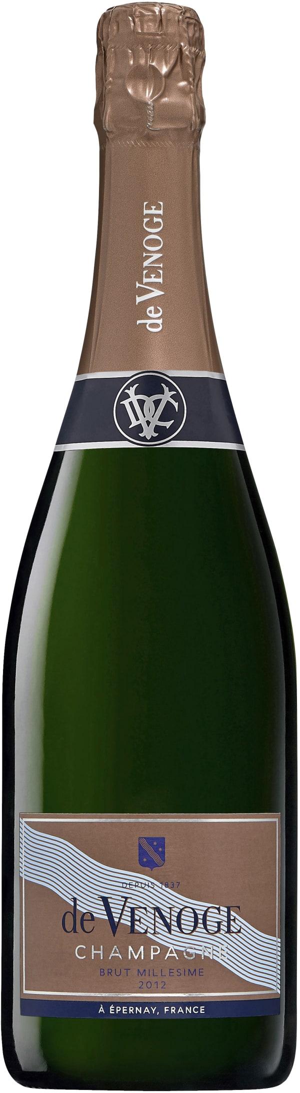 de Venoge Millésimé Champagne Brut 2002