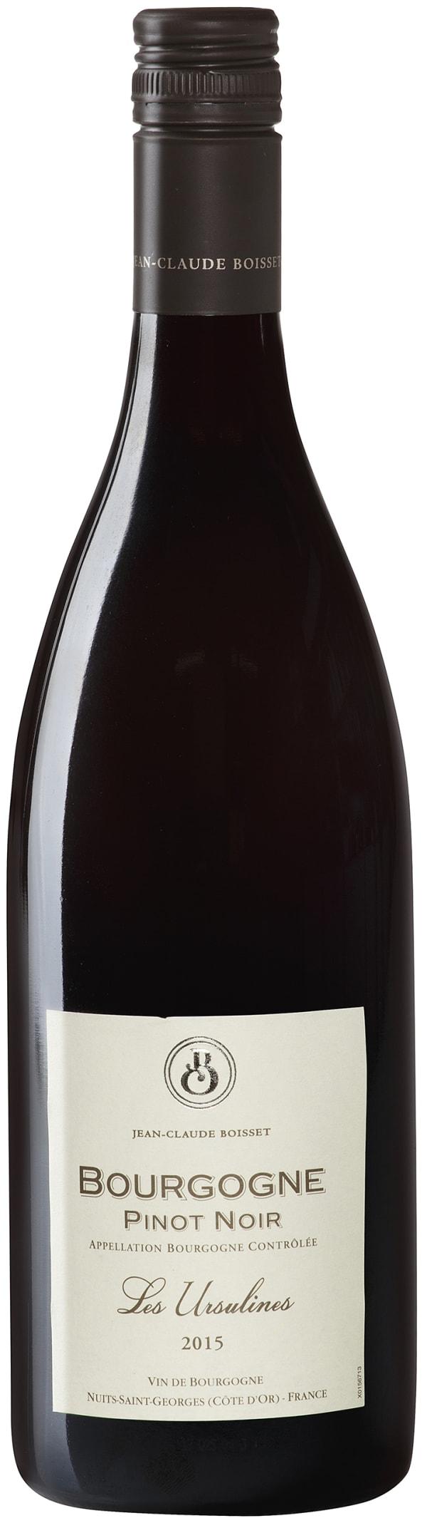 Jean-Claude Boisset Les Ursulines Pinot Noir 2015
